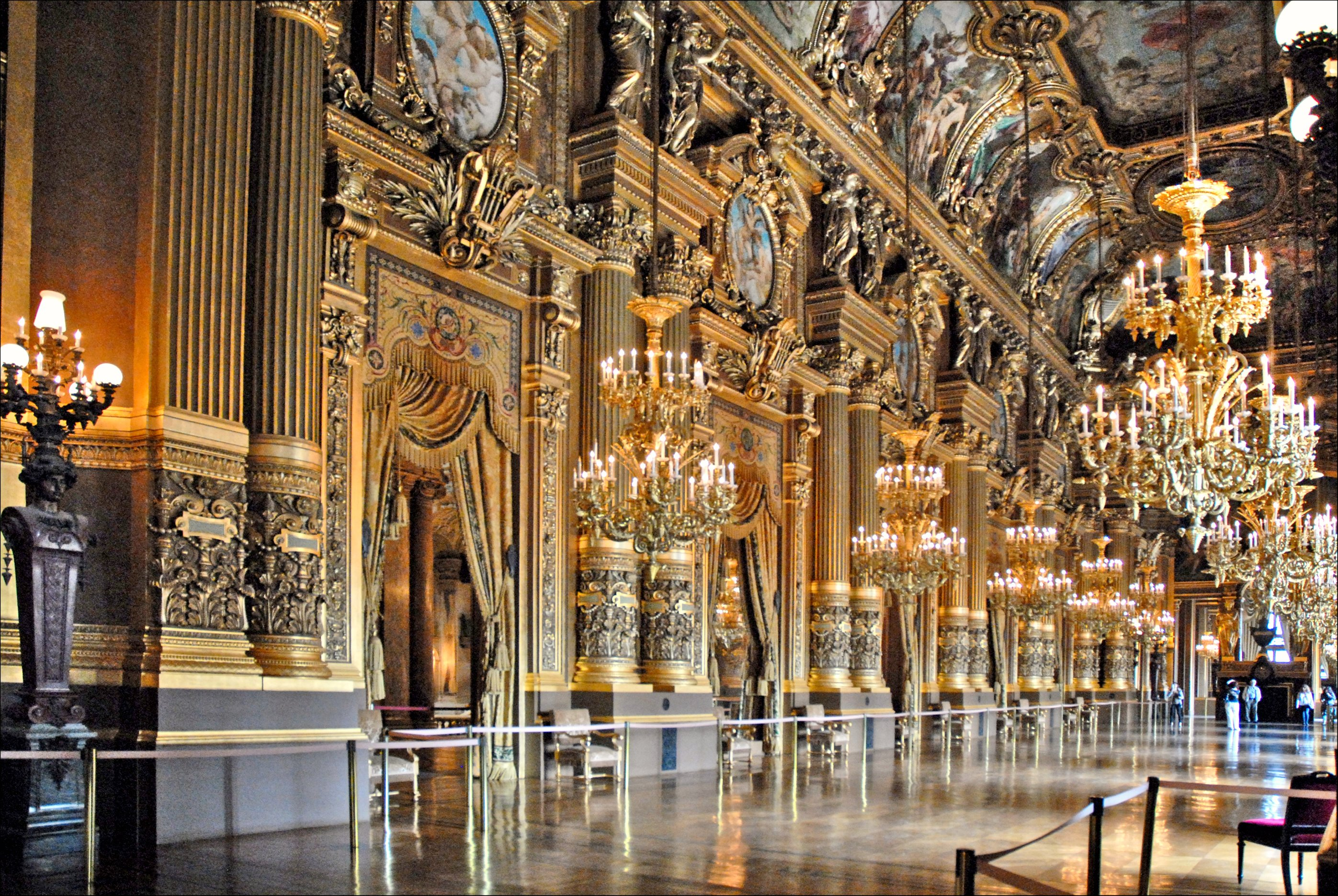 Le grand foyer de l 39 op ra garnier paris flickr photo for Le salon des miroirs paris