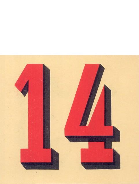 calendrier n14