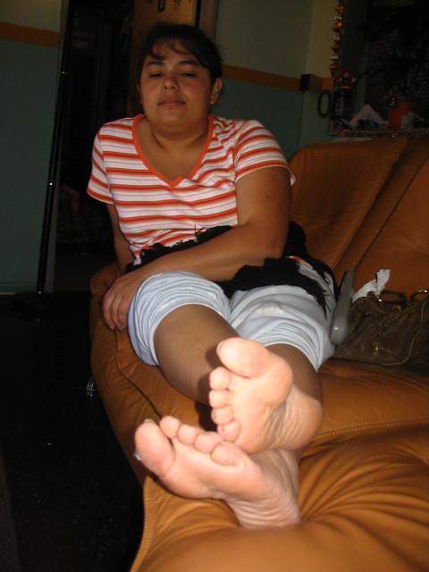 LOVE THIS! Latina feet fetish candid photos fucking