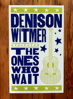 "Hatch Show Print - Denison Witmer ""The Ones Who Wait"""