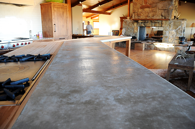 Countertops a comparison pioneer woman home garden for Zinc countertop cost