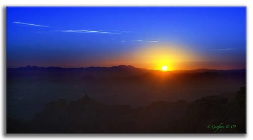 sunset arizona sun mountains southwest photoshop landscape landscapes twilight bravo scenery desert tucson sony scenic canyon baboquivari soe kittpeak oldwest cs4 theunforgettablepictures goldstaraward dslra350 dslr350 lgeof