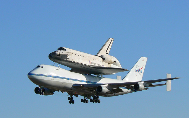 Space Shuttle Piggyback On 747 (page 3) - Pics about space