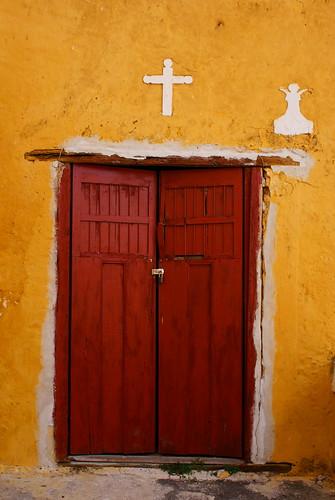 Detalle en el convento