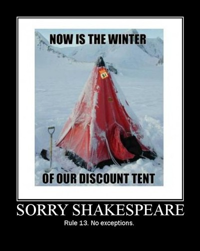 dm-winter of discount tent