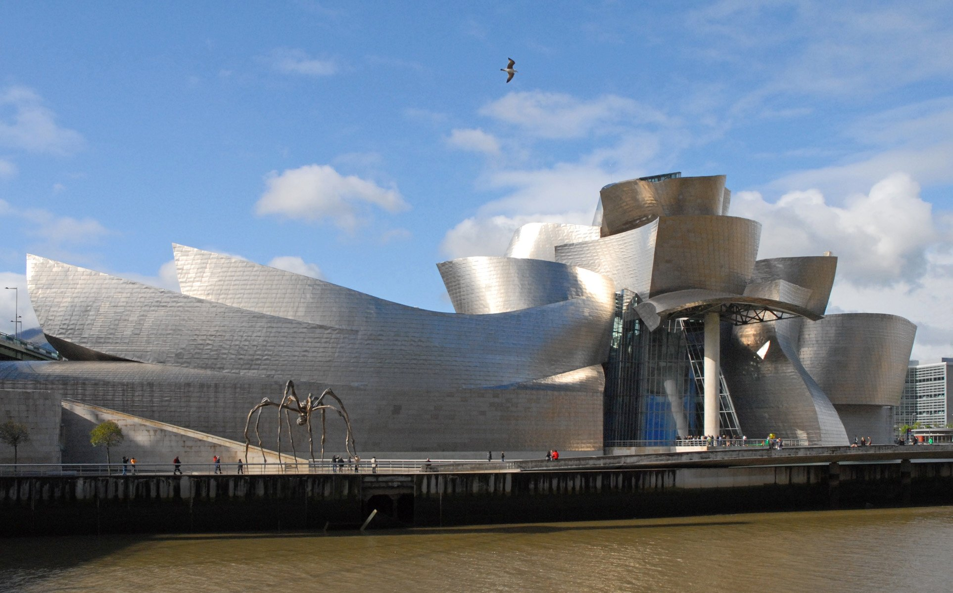Le mus e guggenheim bilbao flickr photo sharing - Arquitectura pais vasco ...