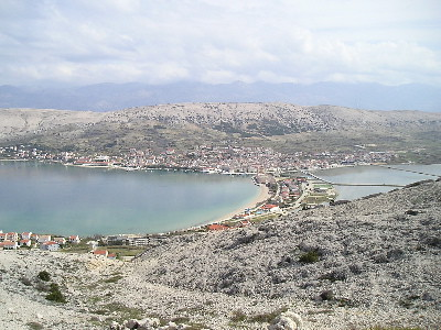 View of Pag city