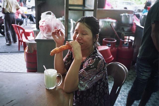 Pudu : Eating yaw cha kuay
