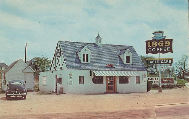 Texas Eagle Cafe Menu