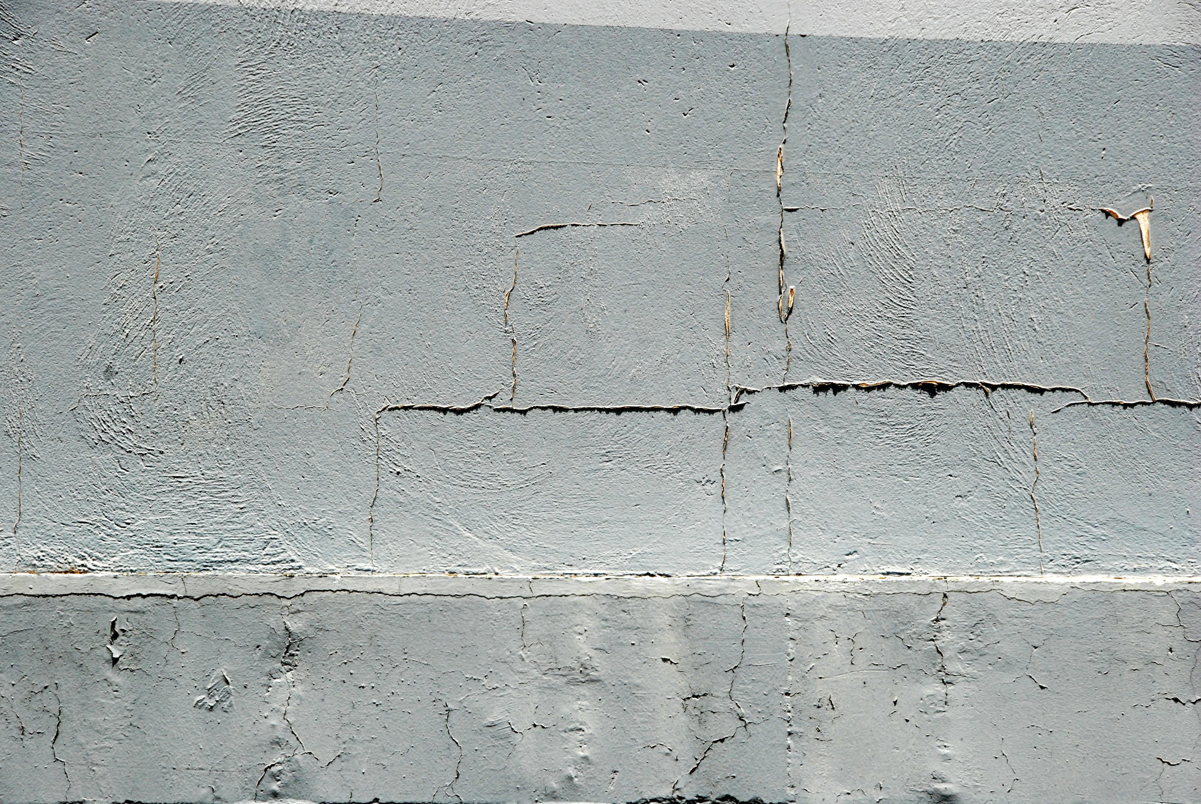 Pared quebrada de cemento gris canarias creativa - Paredes de cemento ...