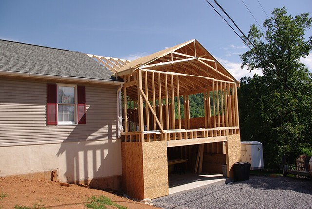 Smith Addition - Roof Framing - Flickr - Photo Sharing!
