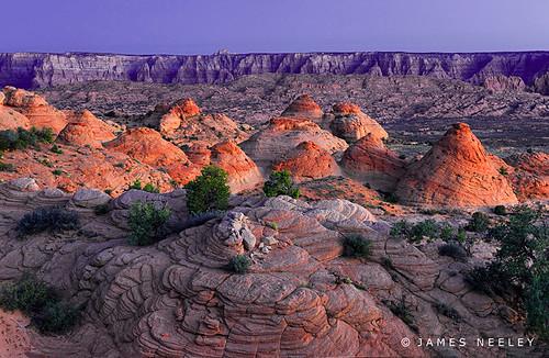 arizona sunrise landscape page hdr 5xp petrifieddunes jamesneeley flickr12