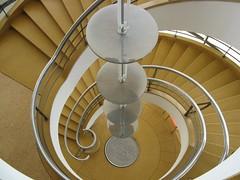 Staircase Inside The De La Warr Pavilion, Bexhill-on-Sea East Sussex