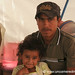 Honduran Father and Daughter - Copan Ruinas, Honduras