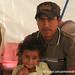 Honduran Father and Daughter - Copan Ruinas, Honduras