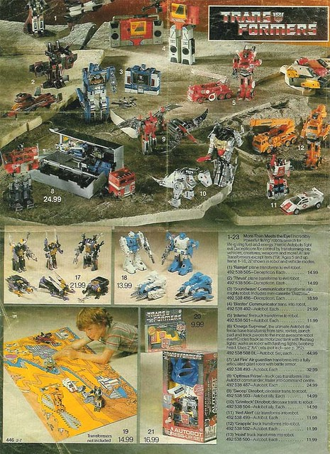 Transformers toy catalogs spielzeug kataloge flickr