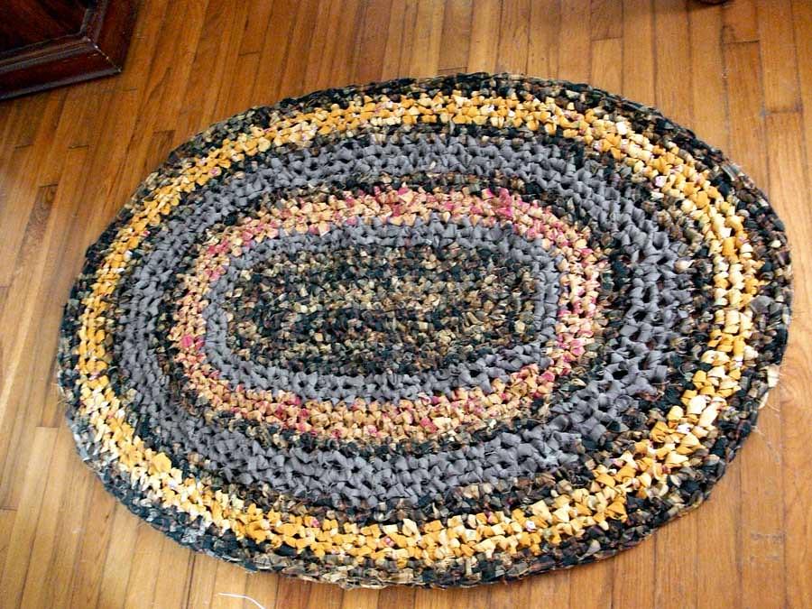 fabric rag rug instructions