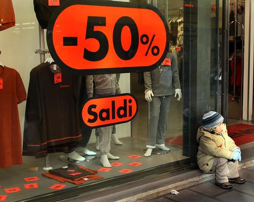 Saldi in Sicilia: calo del 30%$