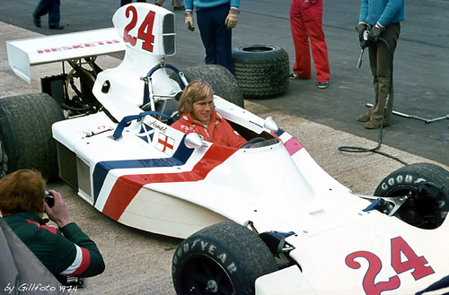 James Hunt in Hesketh March 308 by gillfoto
