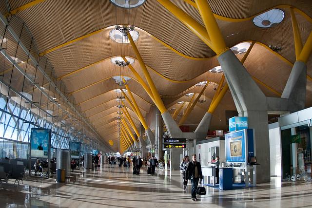 Aeropuerto de barajas madrid terminal t4 flickr - Terminal ejecutiva barajas ...