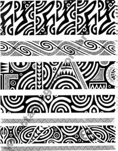 Tattoo Maori Bracelete Significado