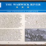The Warwick River — 1862 Peninsula Campaign —