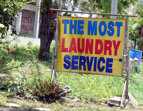 מכבסה ליד העיר ריונג