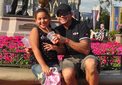 Bruna e eu na Disney/mar2009