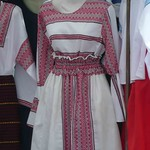 Ukrainian Styled Dress (Ternopil, Western Ukraine)