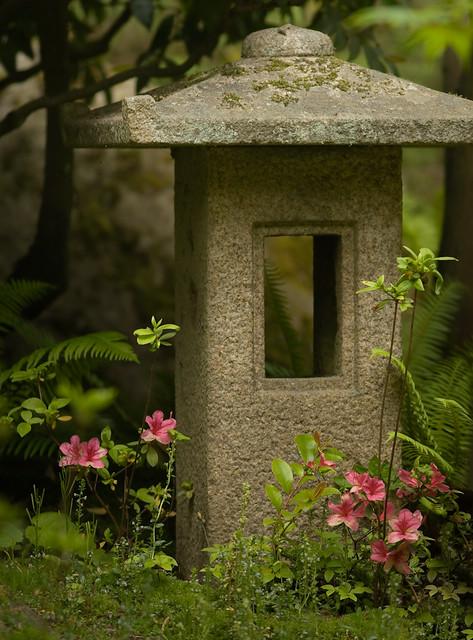 Japanese Garden Stone Lantern Flickr Photo Sharing