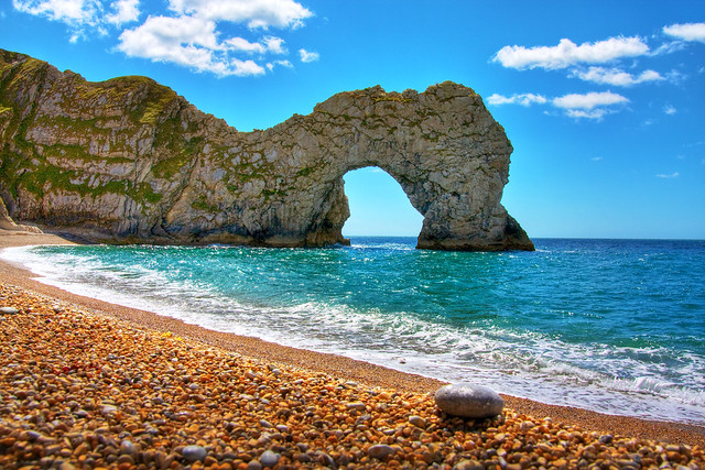 durdle door hdr