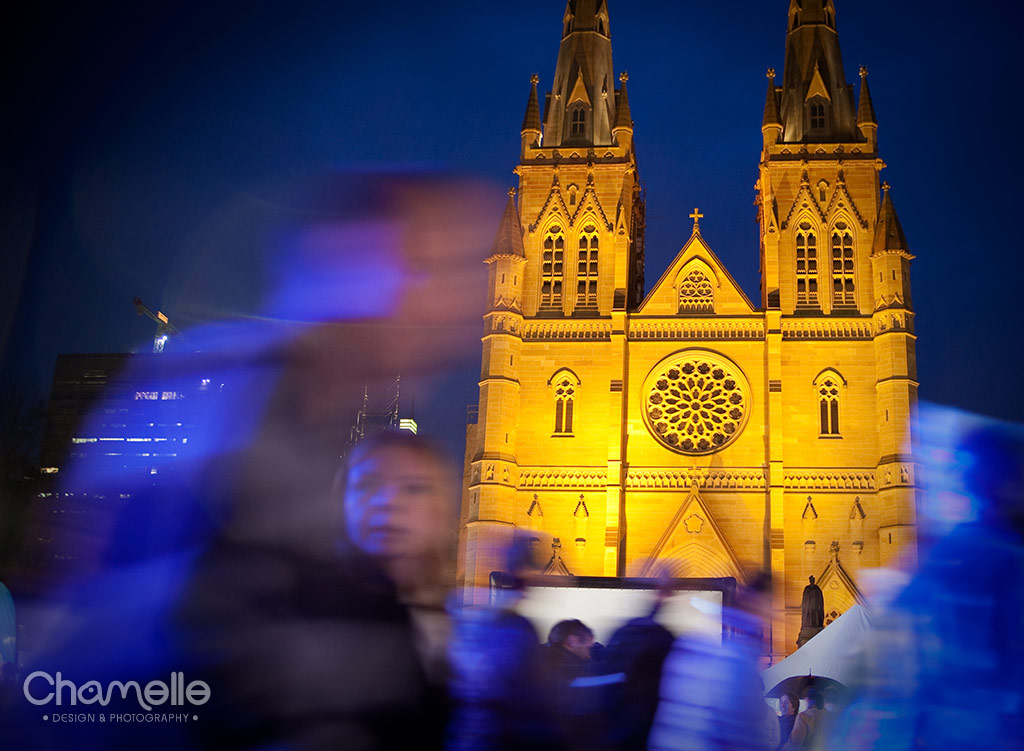 Sydney Winter Festival - St Mary's Cathedral