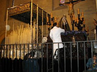 Image of Iglesia de San Pablo. santa españa spain san pablo iglesia andalucia paso cordoba semana