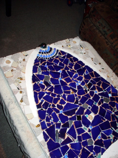Mosaic, no grout | Flickr - Photo Sharing!