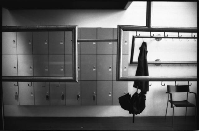 hanged umbrella.
