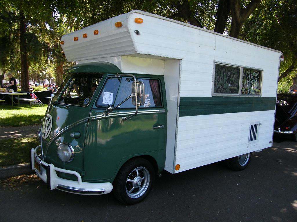 1965 Vw Volkswagen Restored Split Window Panel Bus Ca Black