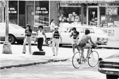 Female Wanted  T-Shirts 10th Ave 42st Boys & Bike Babe Boro Park Brooklyn 1976 70s