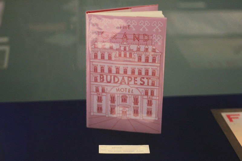 grand budapest hotel book