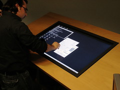 Touch Table at UbiComp-Lab, HAW | by mprove