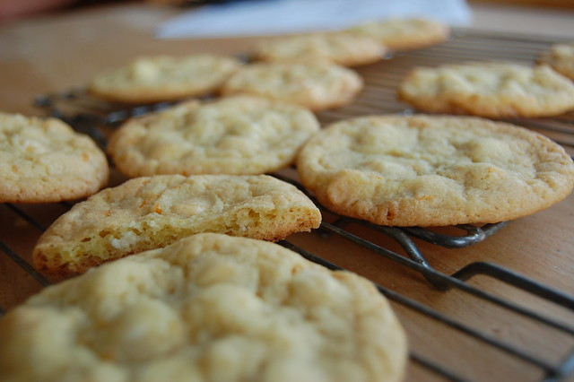 white chocolate and orange cookies | Flickr - Photo Sharing!