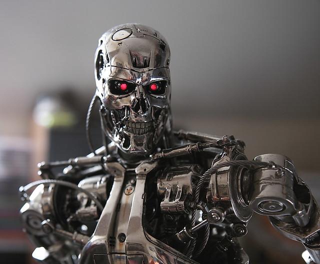 T 800 Terminator Terminator Cinemaquette T-800