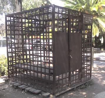 San Juan Capistrano Jail Cell