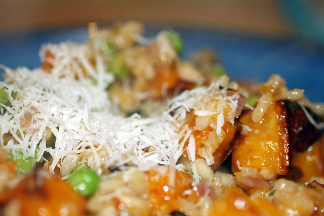 Roasted butternut squash risotto 4 | Flickr - Photo Sharing!