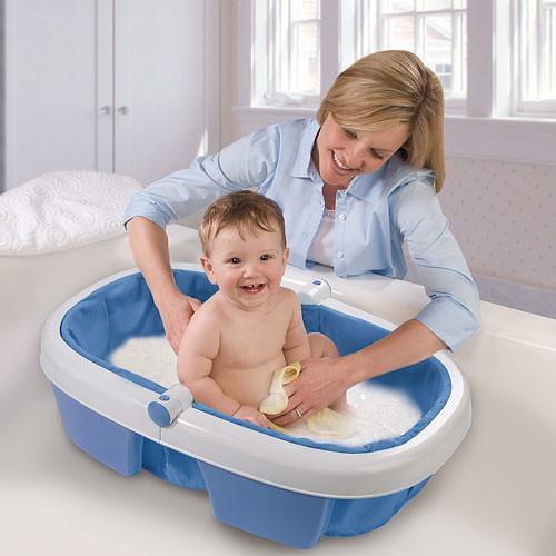 summer infant newborn to toddler portable folding bath tub rarely used flickr. Black Bedroom Furniture Sets. Home Design Ideas
