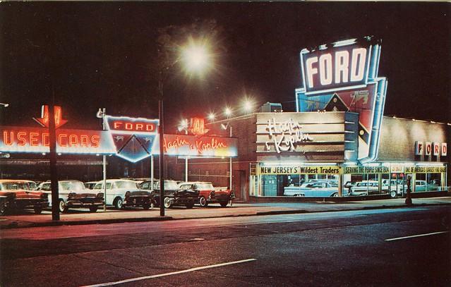 Hagin and Koplin Ford - Newark, New Jersey U.S.A. - 1959