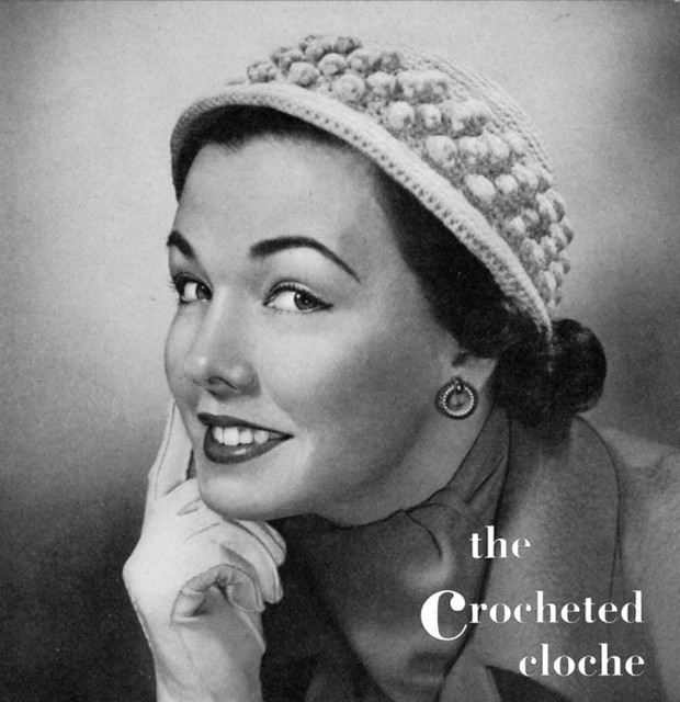 Fold Away Cloche - Free Crochet Hat Pattern