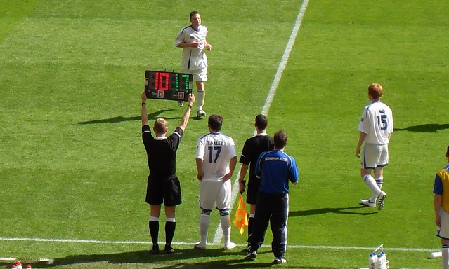Substitution Fa Carlsberg Vase Final 2009 Glossop