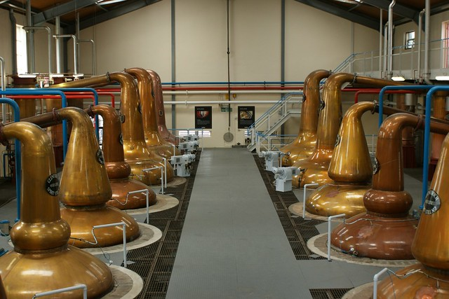 One of the Still rooms at Glenfiddich