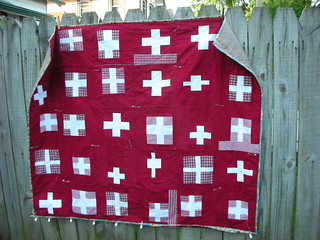 Front of Cross Quilt