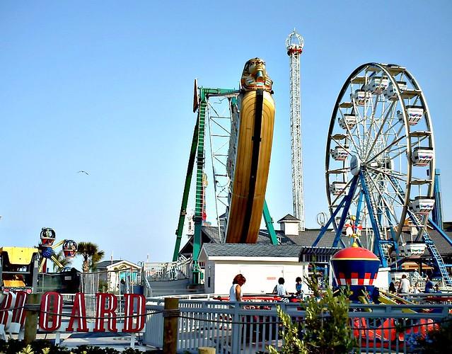 Pharoahs Fury Ride Kemah Boardwalk Flickr Photo Sharing